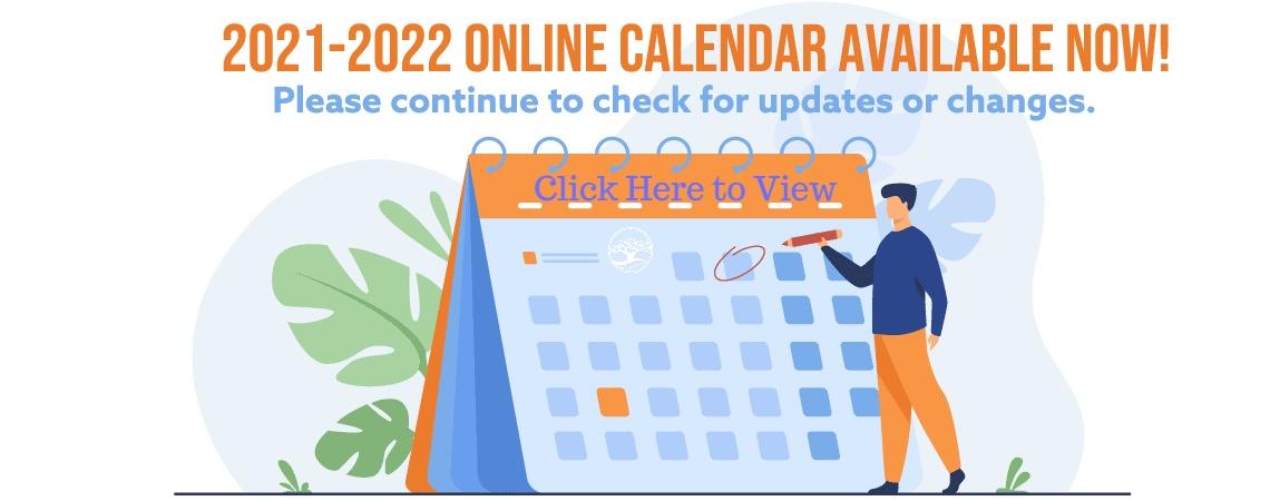 2021-2022 School Year Calendar Available